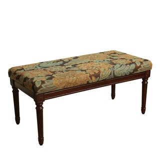 HomePop Olivia Decorative Bench