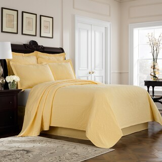 Williamsburg Richmond Matelasse Cotton Coverlet (4 options available)