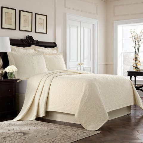 Williamsburg Richmond Matelasse Cotton Coverlet