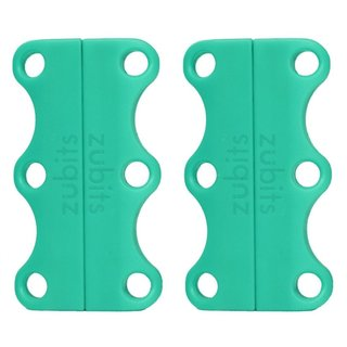 Zubits Green Magnetic Shoe Lace Closures