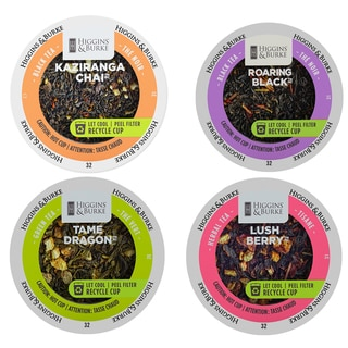 Higgins & Burke Funky Collection of Teas, Aromatic and Power Packed Teas for Greater Impact, 96 Count