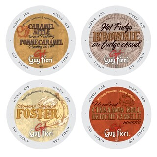 Guy Fieri Famous Deserts Collection of Coffees, Delectable and Mouth Watering Flavors That Will Leave You Craving for Some More