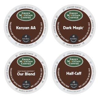 Green Mountain Bold Selection of Coffees, Bold, Extra Bold and Half Caffeinated Varieties in One Pack, 96 Count