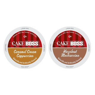 Cake Boss Indulgent Pack of Coffees, Exciting Flavors of Delightfully Creamy Coffees, 48 Count