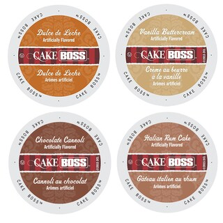 Cake Boss Famous Desert Pack of Delicious Coffees, Mind Blowing Flavors Full of Temptations, 96 Count