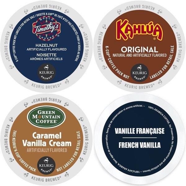 Flavored coffee sampler/gift set item #81 pahrump valley roasters.