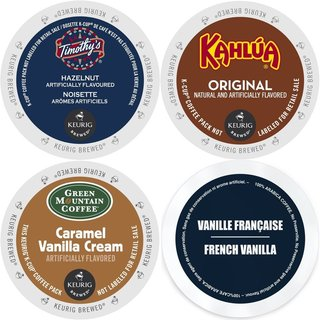 K-Cup Flavored Coffee Variety Pack Keurig 2.0 K-Cup Sampler (96 Count)