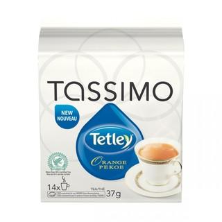 Tetley Orange Pekoe Tea T-Discs for Tassimo Hot Beverage System