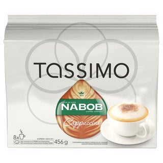 Nabob Cappuccino T-Discs for Tassimo Hot Beverage System (8 Count)