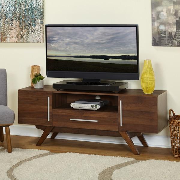Simple Living Ashfield Mid Century TV Stand