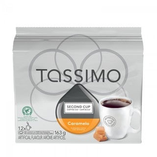Second Cup Caramelo T-Discs for Tassimo Hot Beverage System (12 Count)