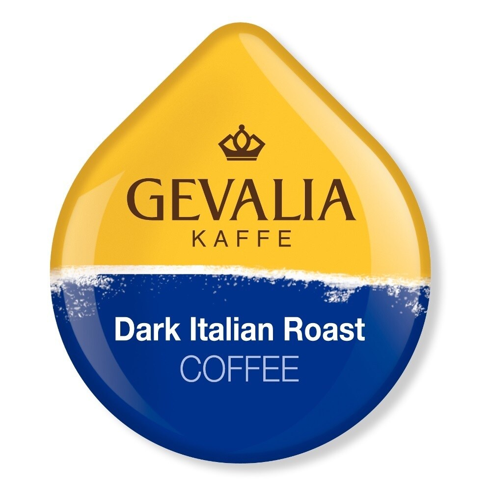 Gevalia Dark Italian Roast Coffee T-Discs for Tassimo Hot...