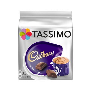 Cadbury Hot Chocolate T-Discs for Tassimo Hot Beverage System (8 Count)