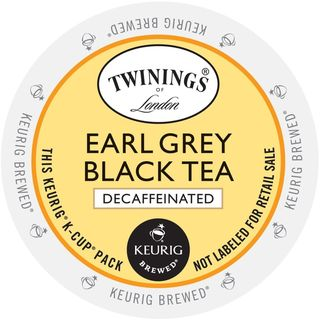 Twining's of London Earl Grey Decaf Tea K-Cup Portion Pack (24 Count)