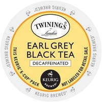 Twining's of London Earl Grey Decaf Tea K-Cup Portion Pack