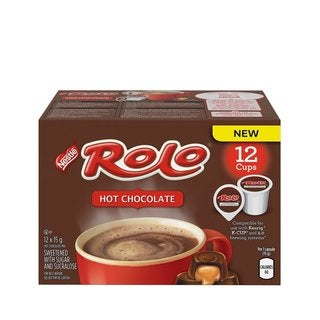 Rolo Hot Chocolate, RealCup Portion Pack for Keurig Brewers