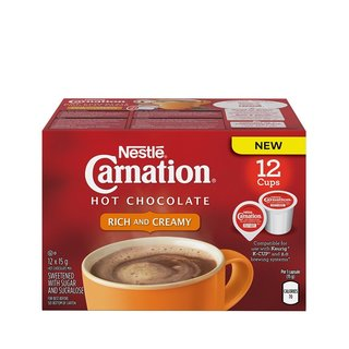 Nestle Carnation Hot Chocolate, RealCup Portion Pack for Keurig Brewers
