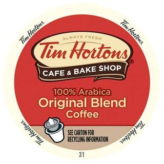 Tim Hortons Original Blend, RealCup Portion Pack For Keurig Brewers
