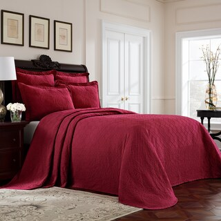 Williamsburg Richmond Cotton Matelasse Bedspread (2 options available)