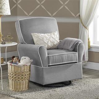 Baby Relax Milan Grey Swivel Glider