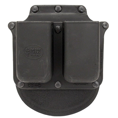 Fobus Double Mag Pouch Glock 10mm/45 ACP & Double Stack Para (Paddle) Right Hand