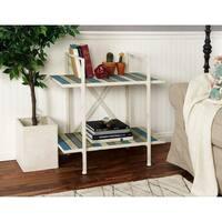 Studio 350 Metal Wood Shelf 32 inches wide, 32 inches high