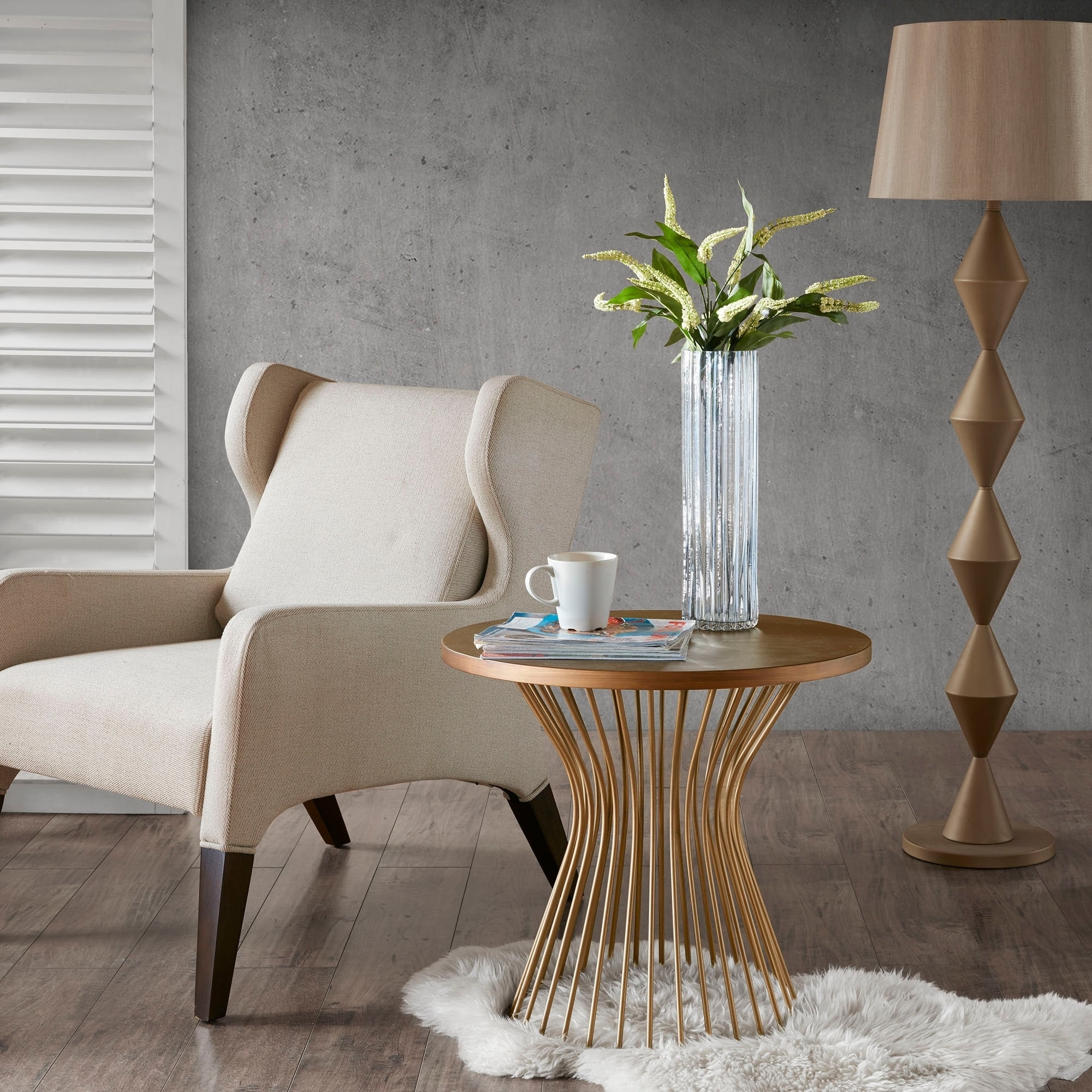 Shop the curated nomad farallon bronze end table free shipping on orders over 45 overstock com 14221152