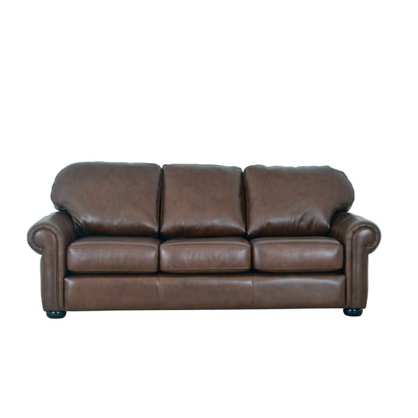 Best Genuine Leather Sectional Sofa: Shop Made To Order Heath Genuine Top Grain Leather Sofa