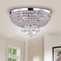 Jassko Chrome 14-inch Hemisphere Ceiling Lamp