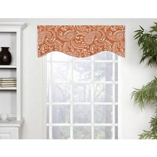 Carlo Multicolored Cotton Shaped Window Valance