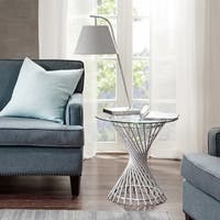Madison Park Ava Silver End Table