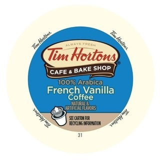 Tim Hortons French Vanilla RealCup portion pack