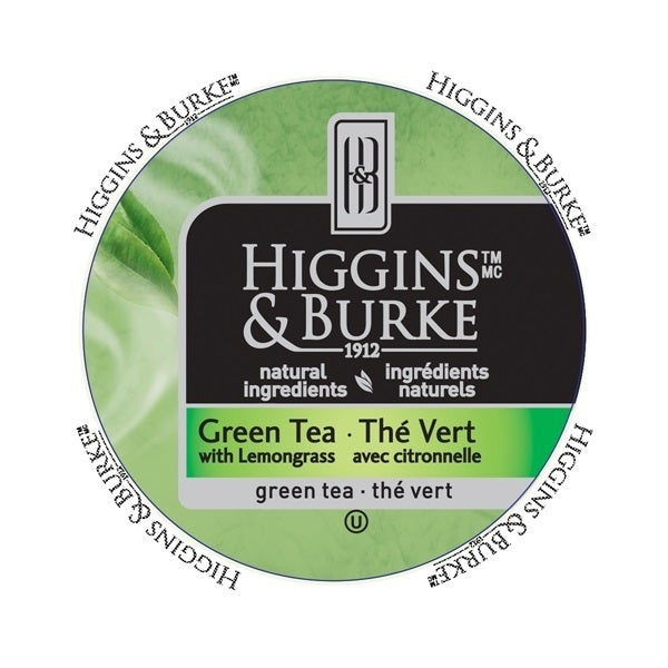 Higgins & Burke Specialty Tea Green Tea RealCup portion p...
