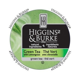 Higgins & Burke Specialty Tea Green Tea RealCup portion pack