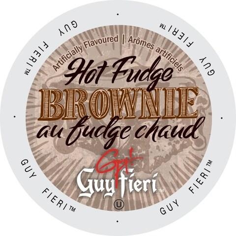 Guy Fieri Coffee Hot Fudge Brownie K-Cup Portion Pack