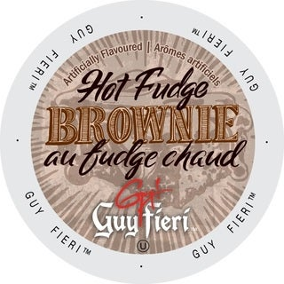 Guy Fieri Coffee Hot Fudge Brownie K-Cup Portion Pack (24 Count)