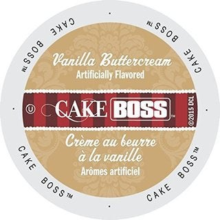 Cake Boss Coffee Vanilla Buttercream Single Serve Cup Portion Pack