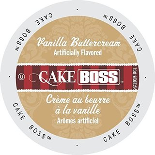 Cake Boss Coffee Vanilla Buttercream Single Serve Cup Portion Pack