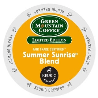 Green Mountain Summer Sunrise Blend Coffee K-Cups (24 count)