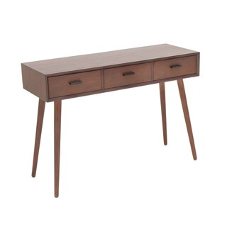 Urban Designs Adali 3-Drawer Wood Console Table