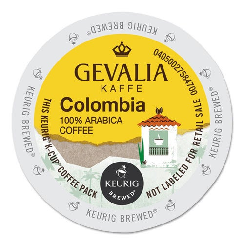 Gevalia Colombia K-Cup Portion Pack (24 Count), White