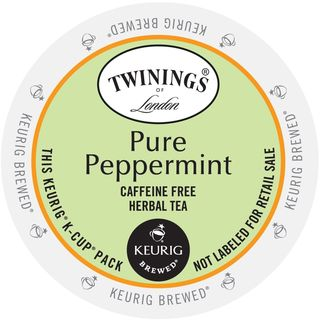 Twining's of London Pure Peppermint Tea K-Cup Portion Pack