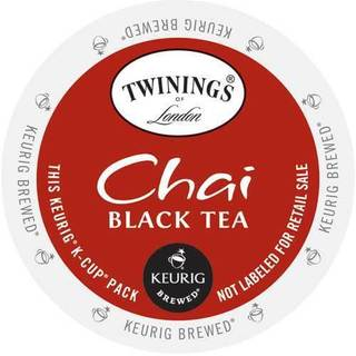 Twining's of London Chai Tea K-Cup Portion Pack