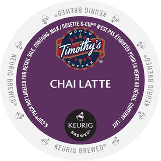 Timothy's Chai Latte K-Cup Portion Pack
