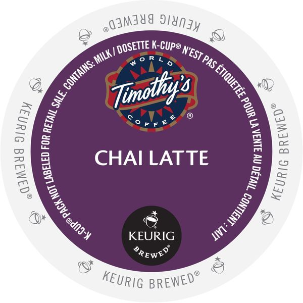Shop Timothy S Chai Latte K Cup Portion Pack Free