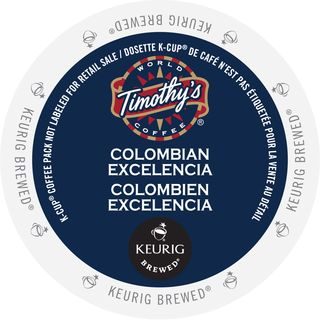Timothy's Colombian Excelencia K-Cup Portion Pack