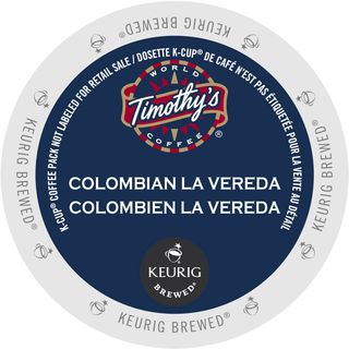 Timothy's Colombia La Vereda K-Cup Portion Pack