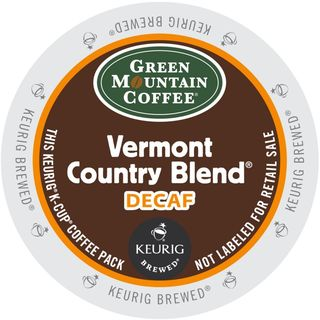 Green Mountain Vermont Country Blend Decaf Coffee K-Cup Portion Pack