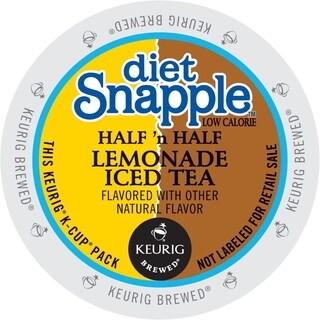 Snapple Diet Half 'n Half K-Cup Portion Pack