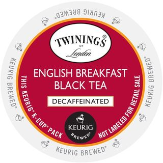Twinings of London English Breakfast Decaf Tea K-Cup Portion Pack (24 Count)
